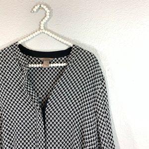 H&M heart shirt dress plus size 18